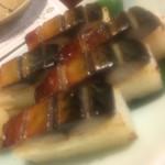 70626885 - 焼き鯖の棒寿司。