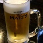 炉端dining ろい - 水曜日 生ビール 100円