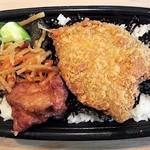 本家かまどや - 料理写真:アジのり弁当 390円