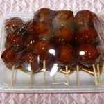 富永精肉店 - 料理写真:人気の手作り肉だんご串1本130円