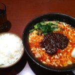 7063051 - 担担麺と小ライス