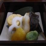 京料理 清水 - 焼き物エリア