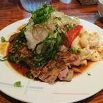 たびと洋食家 - 和風ポークステーキ