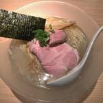 RAMEN にじゅうぶんのいち - 料理写真:冷やし塩そば(900円)
