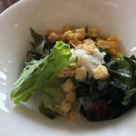 パーゴラ - 朝食ブッフェのサラダ