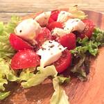 マスタング東京 - トマトとモッツァレラのカプレーゼ