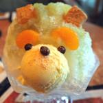 エバーグリーンカフェ - かき氷 ずんだ熊太郎