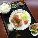 Cafe茶々 - 料理写真:週替わり定食 ¥550なり