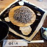 とき庵 - もりそば(700円)_2011-03-05