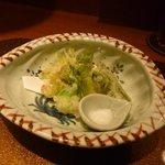 野菜割烹 あき吉 - 山菜天婦羅(たらの芽、こごみ、蕗の薹、蕾菜)