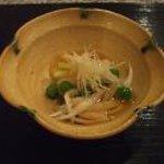 菅井 - 2011/3 白魚を使った先付け