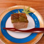 蔵精 - 青梅と酒粕のチーズ不使用のチーズケーキ。