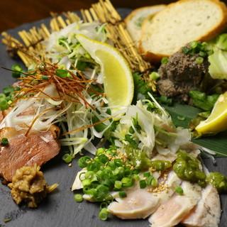 """◆おいしい""""鶏料理""""を食べるなら【焼き鶏青天上】へ!◆"""