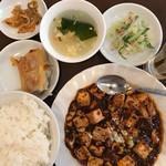 70641269 - 麻婆豆腐定食750円餃子2個付き
