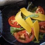 レンヤ - コリンキー(カボチャ)が入ったサラダ