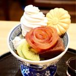 菊丸 - 味のバランスの良い美味しいあんみつでした 写真撮りまくり〜(≧∀≦)
