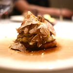 70645247 - 猪頬肉の煮込み 茄子とサマートリュフ、アーモンド