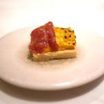 ete - トウモロコシとハラミのタルト マサラの香り
