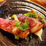 ステラート - 鴨肉のロースト、バルサミコソース