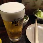 とりすけ - ドリンク写真:生ビール