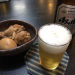 右京 - ビール&お通し