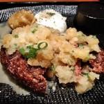 ハンバーグ&ステーキ 黒毛和牛 腰塚 - [料理] おろし大根を掛けたハンバーグ 全景♪w