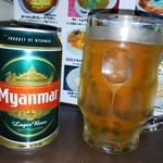 アジアンキッチン チェーズ - ミャンマーのビール
