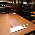 ハンバーグ&ステーキ 黒毛和牛 腰塚 - [内観] 店内 テーブル席 ②