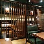 ハンバーグ&ステーキ 黒毛和牛 腰塚 - [内観] 店内 テーブル席 ④