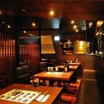 ハンバーグ&ステーキ 黒毛和牛 腰塚 - [内観] 店内 テーブル席 ⑤
