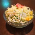 パラダイス - セットのサラダ。