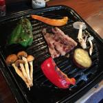 70647818 - 熊&鹿焼肉定食