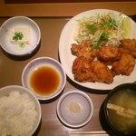 やよい軒 - 料理写真:唐揚げ定食@720