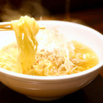 12 - 〆のとりそばの麺 '17 7月上旬