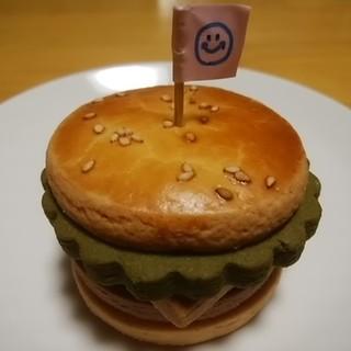 甲斐 - 料理写真:Happyハンバーガー
