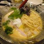 金町製麺 - 冷製カボチャポタージュ