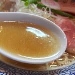 中華そば いづる - 煮干しそば(750円)+和え玉(200円)