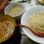 金町製麺 - つけ麺(冷汁&鯛汁)