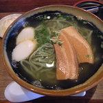あちこーこー - 三枚肉そば+ヨモギ麺