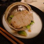 満楼日園 - アワビ前菜