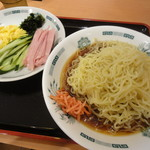 70650780 - 黒酢しょうゆ冷やし麺