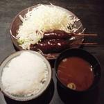 70651565 - 味噌串カツ680円(税込)