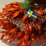 北欧料理リラ・ダーラナ - 夏の風物詩