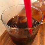ヌフ クレープリー - アイスコーヒー