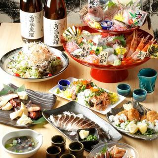 料理長厳選の宴会コースは5,000円~◎