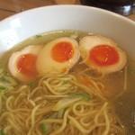 麺屋 大申 - 大申淡麗、麺と汁