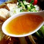 中華そば 金ちゃん - 冷たいのに旨味とコクが詰まったスープ!