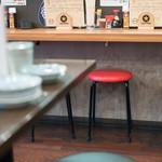 やきとん酒場 マルコ - 2017.7 カウンター席とテーブル席