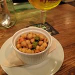 ビア エトセトラ - ひよこ豆のサラダ・クミン風味