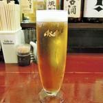 アジト - 生ビール(2杯)
